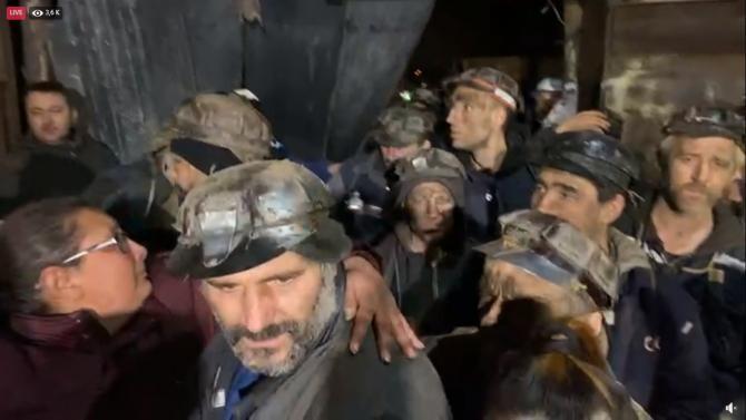 Minerii au protestat şapte zile în subteran