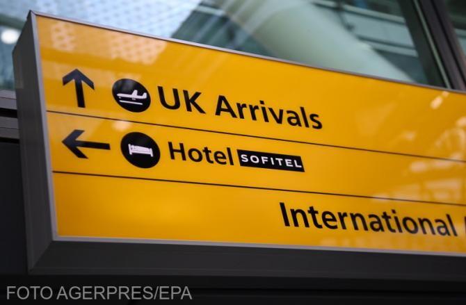 MAE avertizează cetățenii români care intenționează să meargă în Anglia.