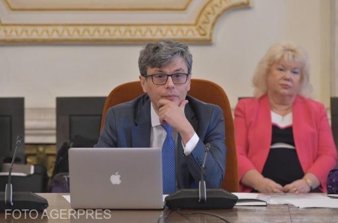 Legea off-shore ar putea fi votată în această sesiune parlamentară. Virgil Popescu: Romgaz va depune o ofertă în următoarele două luni pentru participaţia Exxon în proiectul Neptun