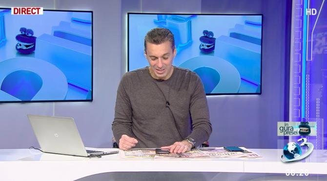Mircea Badea a primit un SMS de la Andrei Păunescu / Foto: Captură Antena3