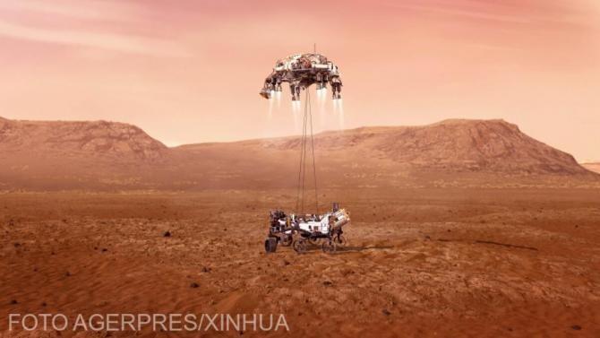 NASA a publicat primele imagini color cu roverul Perseverance și suprafața Planetei Marte / VIDEO