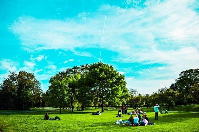 foto ilustrativ pixabay. Parc londonez în Cluj