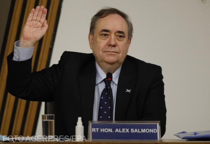 Alex Salmond i-a răspuns Nicolei Sturgeon după acuzațiile dintr-o conferință Covid-19