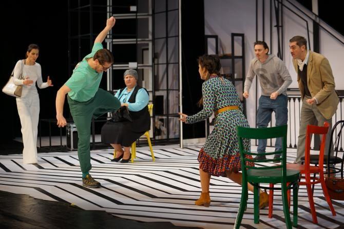 """Premieră la Teatrul Național """"Marin Sorescu"""" din Craiova: Spectacolul de comedie TOC TOC"""