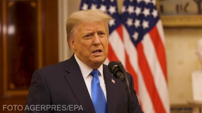 Donald Trump,  la Conferinţa Conservatoare pentru Acţiune Politică