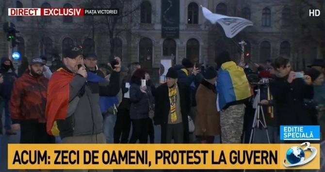 PROTEST 1 februarie 2021. Oamenii nu poartă masca de protecție