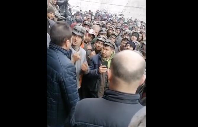 protest mineri captură foto Facebook video live