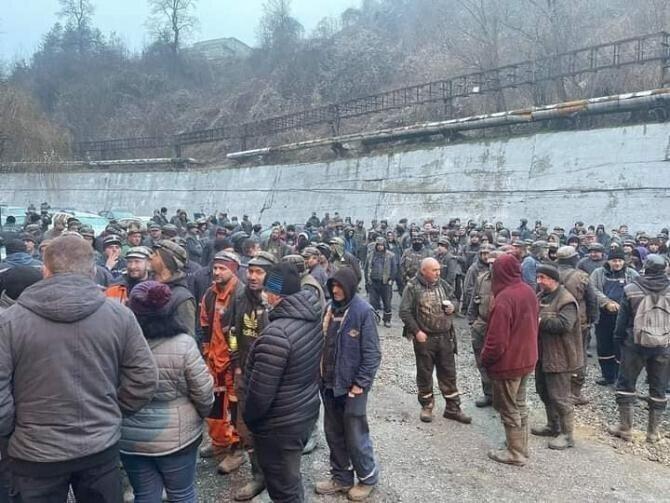 Proteste Valea Jiului / Foto: Facebook / Sindicatul FORUM din Administratia Publica - Bucuresti