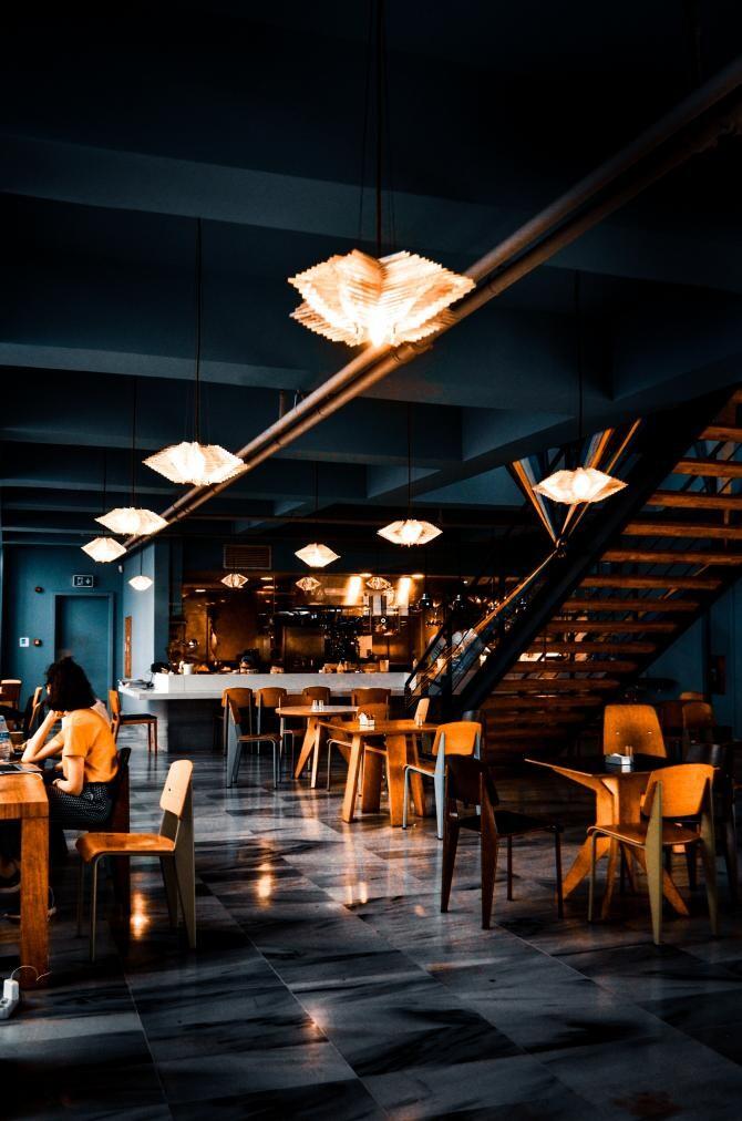 Restaurant. Sursa:  Volkan Vardar - Pexels