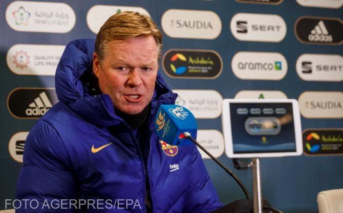 Koeman spune că ar fi bine ca Atletico Madrid să piardă puncte