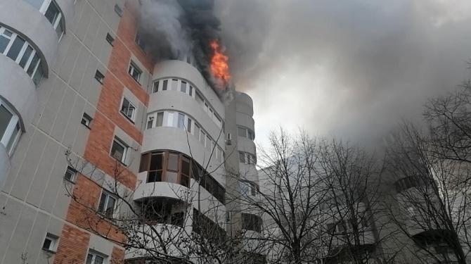 Incendiu Constanța. Șeful ISU Dobrogea: Colegii de la subunitate au mințit  /  Sursă foto ISU: Dobrogea