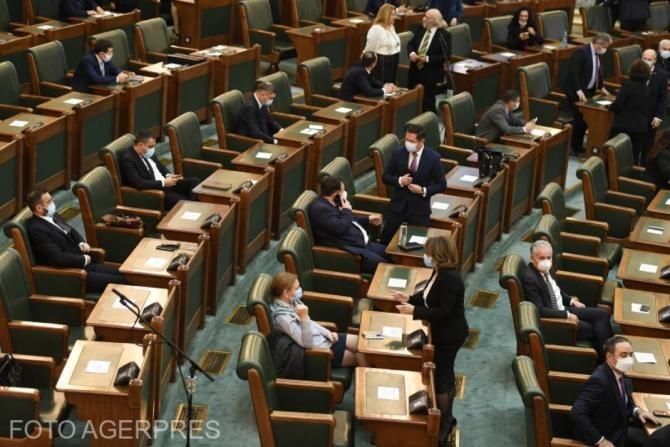 Senatul a adoptat, luni, cu 84 de voturi 'pentru' şi 54 'împotrivă', proiectul iniţiat de Guvern privind desfiinţarea Institutului Revoluţiei Române din Decembrie 1989