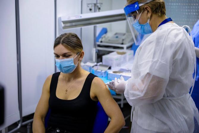 Simona Halep a încasat-o rău.