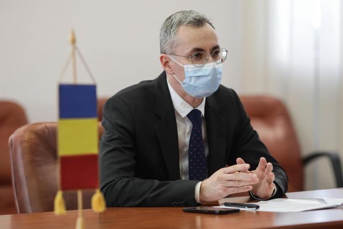 Ministrul Justiției, Stelian Ion. Foto: Facebook