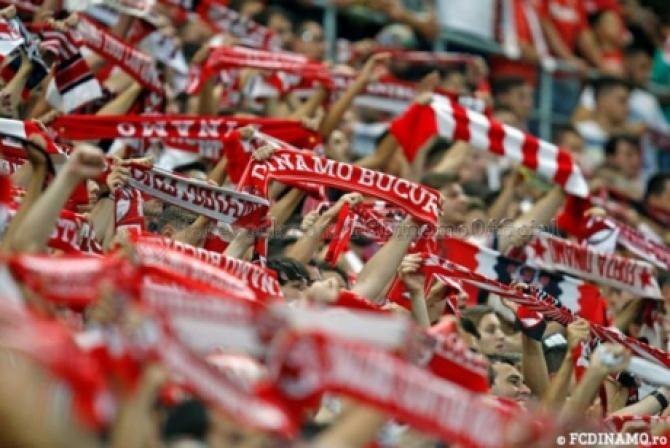 Dinamo FCSB, sold out. Suporterii dinamovişti au cumpărat toate biletele. Sursa: Facebook Dinamo