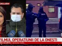 Alexandru Scurtu, declarații despre operațiunea de la Onești / Captură Antena3
