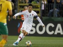 Banderola de căpitan al naţionalei Portugaliei a lui Cristiano Ronaldo, scoasă la licitaţie pentru a ajuta un copil bolnav