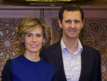 Bashar Al-Assad, şi soţia acestuia, Asma Al-Assad  Foto: Facebook