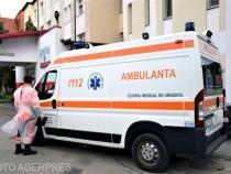 Copil de trei ani, mort în ambulanță