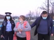 Soția lui Gheorghe Moroșan în timpul arestării / Sursa foto: captură videoAntena 3