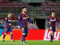 Lionel Messi a fost tachinat de cei de pe banca Sevillei, acuzând arbitrajul