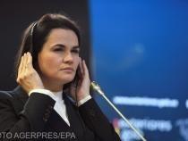 Opozanta belarusă Svetlana Tihanovskaia, aflată în Portugalia: Mă simt fizic în siguranţă în Uniunea Europeană