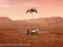 Perseverance, prima deplasare pe Marte