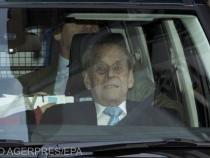 Prințul Philip fusese internat pe 16 februarie 2021