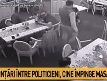 Daniel Suciu - Traian Ogâgău, ceartă într-un local. S-a lăsat cu plângere penală / VIDEO
