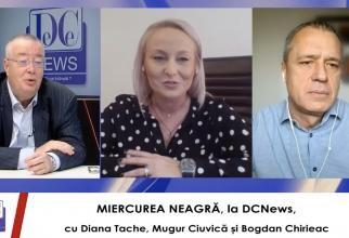 Miercurea Neagră, la DCNews și DCNewsTV, cu Chirieac, Ciuvică și Tache - 3 martie 2021