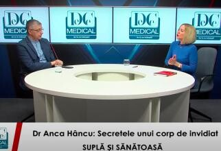 Dr. Anca Hâncu, la interviurile DC News și DC Medical