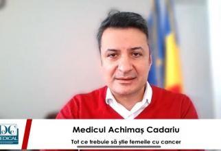 Prof. dr. Patriciu Achimaş-Cadariu, la interviurile DC News și DC Medical