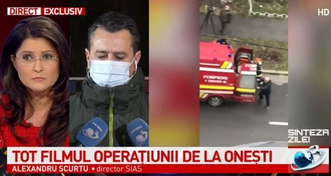 Alexandru Scurtu, despre operațiunea de la Onești