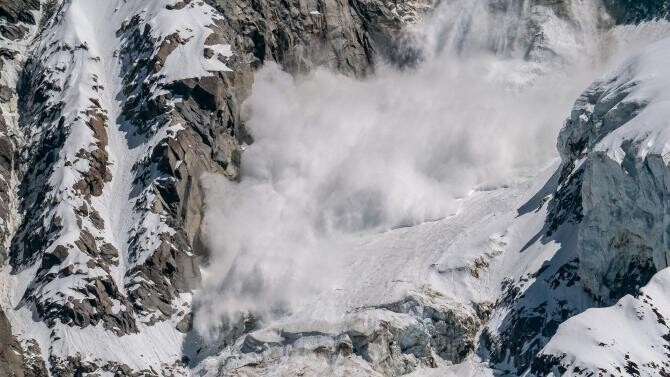 Avalanșă în Munții Rodnei, surprinsă în câteva imagini incredibile / Foto cu caracter ilustrativ: Pixabay