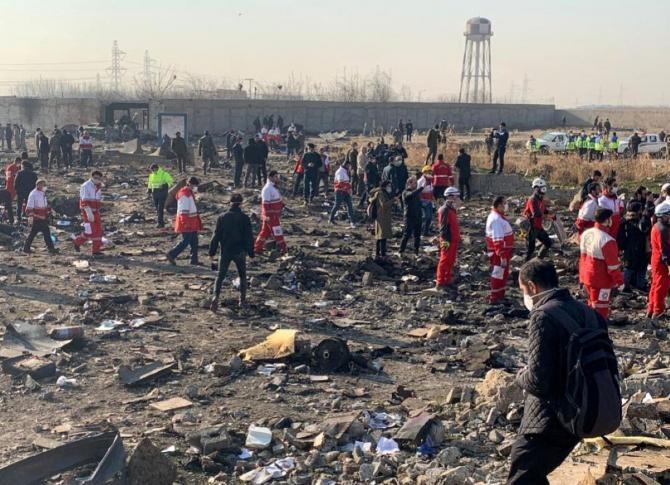 Apărarea aeriană a Iranului era în stare de alertă maximă în noaptea tragediei