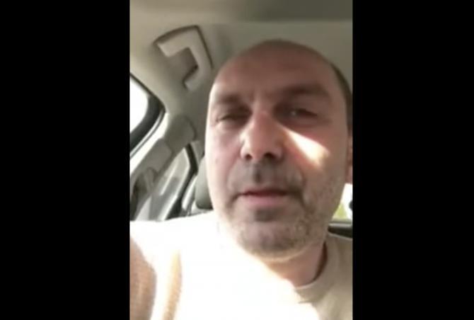 foto: Canalul Youtube al bărbatului care l-a amenințat cu moartea pe Raed Arafat