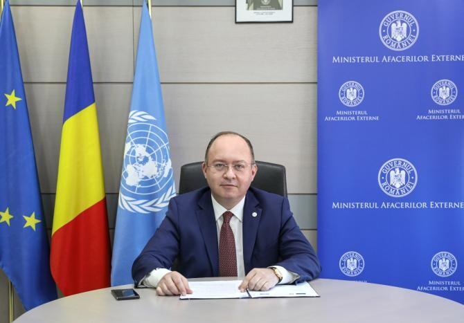 Bogdan Aurescu: România va acorda un sprijin financiar de 150.000 de euro pentru refugiații sirieni   /  Sursă foto: MAE