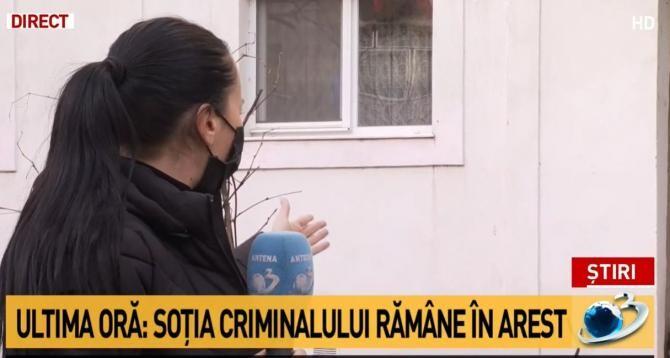 Caz Onești. Decizie de ULTIMĂ ORĂ pentru soția criminalului / Captură Antena 3