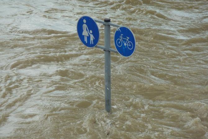 Cod galben de inundații pe râurile din sudul și SV-ul României  /  Foto cu caracter ilustrativ: Pixabay
