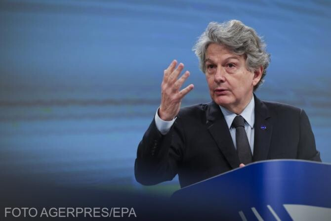 Comisarul UE pentru piaţa internă crede în posibilitatea obţinerii imunităţii colective până în iulie