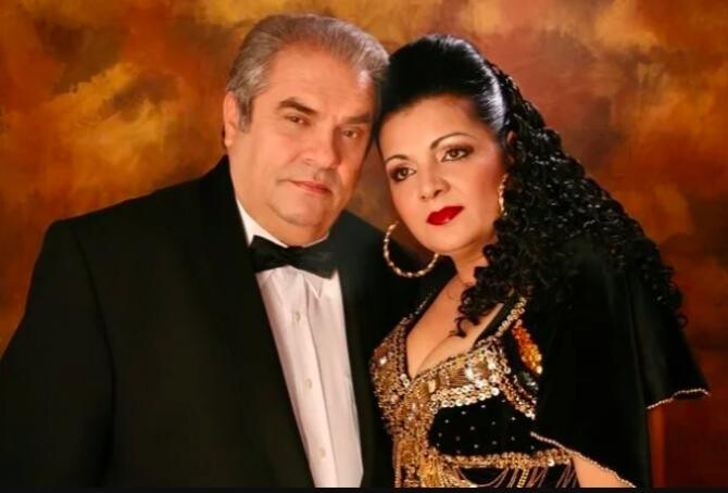 Cornelia Catanga și Aurel Pădureanu / Foto Facebook