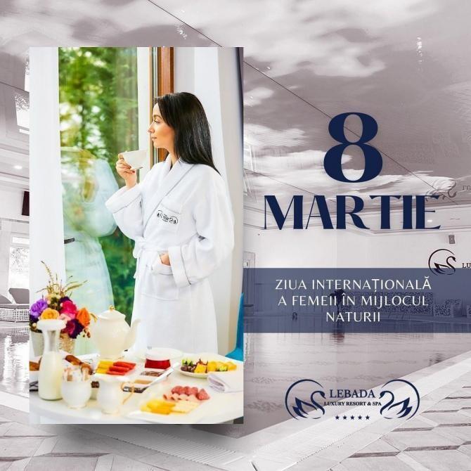 De 8 martie, doamnele vor în inima Deltei Dunării. Complexul Lebăda, ofertă de 50% în martie și aprilie