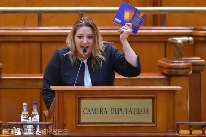 Diana Şoşoacă a fost exclusă din grupul parlamentar AUR