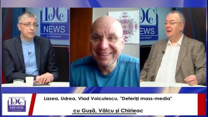 """""""Deferiți mass-media"""" cu Gușă, Vâlcu și Chirieac"""