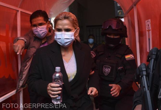 Jeanine Anez a ocupat funcţia de preşedinte interimar după demisia lui Evo Morales