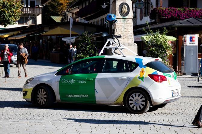 Mașinile Google Street View se întorc în România primăvara aceasta  /  Sursă foto: Pixbay