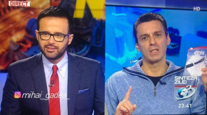 Mircea Badea, la Sinteza Zilei / Captură Antena 3