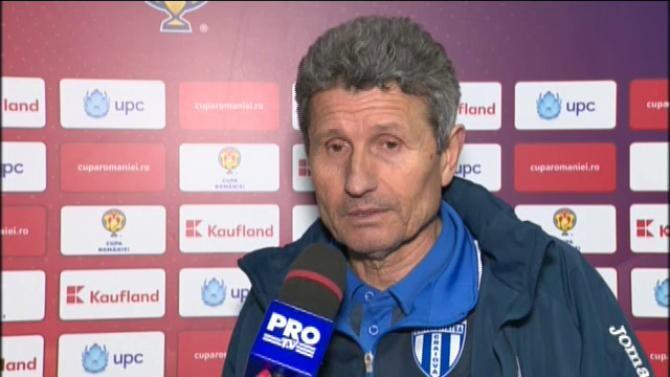 Gigi Mulțescu: Meciul l-am pierdut în prima repriză