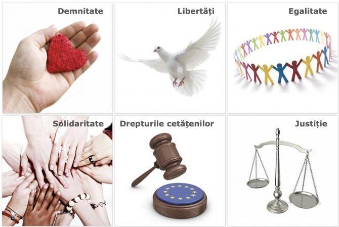 foto: Carta drepturilor fundamentale a UE, captură foto prezentare