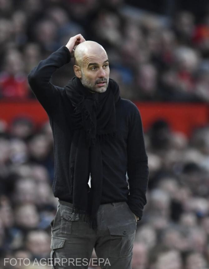 Guardiola, uimit de performanțele echipei sale
